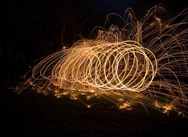 Experimenteren met licht en donker