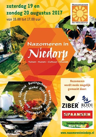 Nazomer Flyer A6 2017 Aaa BorderMaker