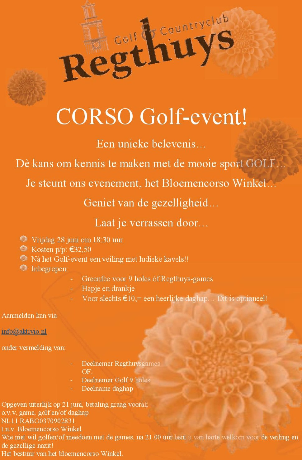 Flyer Golfevent 2