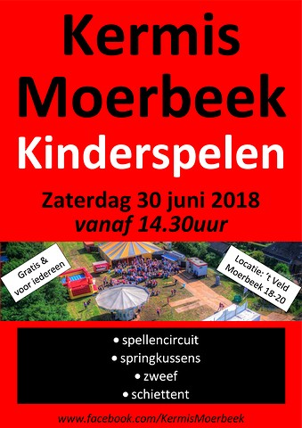 Kinderspelen Moerbeek 2018 BorderMaker